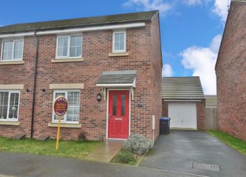 Thumbnail 3 bed semi-detached house for sale in Chaser Way, Northampton