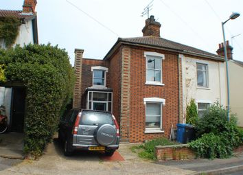 Thumbnail 3 bed semi-detached house to rent in Bartholomew Street, Ipswich