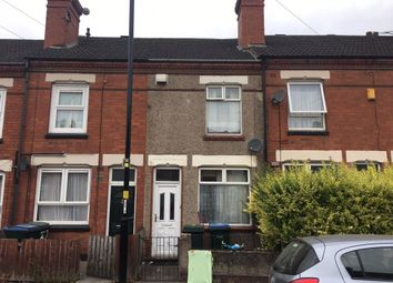 Thumbnail 2 bedroom terraced house to rent in Swan Lane, Stoke