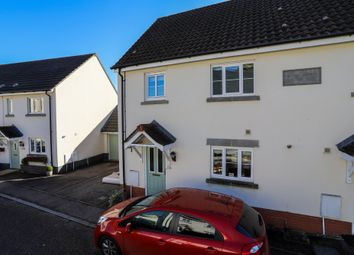 Thumbnail 3 bed semi-detached house for sale in Bowdens Close, Bovey Tracey, Newton Abbot