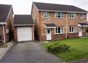 Thumbnail 3 bed semi-detached house for sale in Greenfields, Heckmondwike