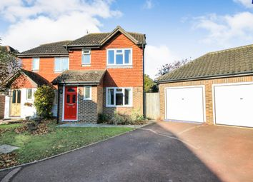 Thumbnail 3 bed semi-detached house for sale in Dukes Meadow, Chiddingstone Causeway, Tonbridge