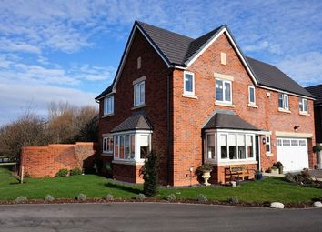 Thumbnail 4 bed detached house for sale in Stoney Grove, Wrea Green, Preston