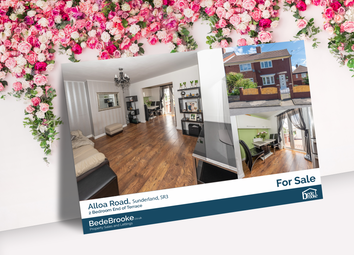 2 bed end terrace house for sale in Alloa Road, Sunderland SR3