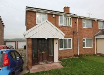 Thumbnail 2 bed semi-detached house for sale in Ullswater Road, Mexborough, South Yorkshire