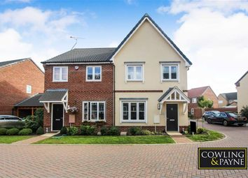 Thumbnail 3 bed semi-detached house for sale in Maple Lane, Wickford, Essex
