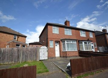 Thumbnail 3 bed property to rent in Gainsborough Road, Knighton, Leicester