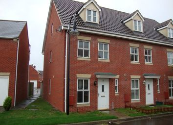 Thumbnail 3 bed end terrace house to rent in Stroud Way, Weston Super Mare