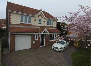 Thumbnail 4 bed detached house for sale in Beacon Glade, South Shields