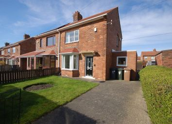 Thumbnail 2 bedroom semi-detached house for sale in Craster Avenue, Forest Hall, Newcastle Upon Tyne