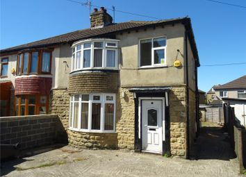 Thumbnail 3 bed semi-detached house to rent in Warley Avenue, Bradford, West Yorkshire