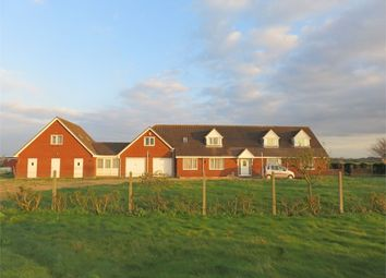 Thumbnail 9 bed detached house for sale in Luttongate, Sutton St Edmund, Spalding, Lincolnshire