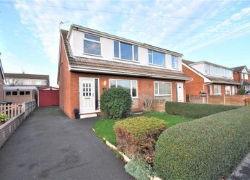 Thumbnail 3 bed semi-detached bungalow for sale in Hodgson Avenue, Freckleton, Preston, Lancashire