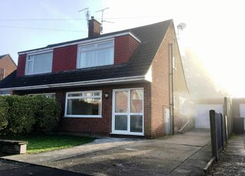 Thumbnail 3 bed semi-detached house to rent in Chestnut Road, North Hykeham, Lincoln