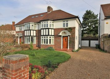 Thumbnail 3 bed semi-detached house for sale in Bray Road, Stoke D'abernon, Cobham