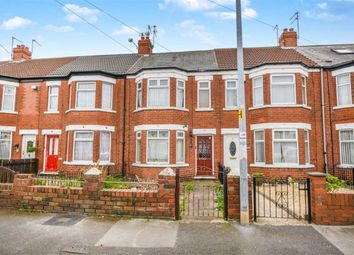 Thumbnail 3 bedroom terraced house for sale in Roslyn Road, Hull