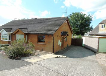 Thumbnail 2 bed semi-detached bungalow for sale in Porlock Drive, Sully, Penarth
