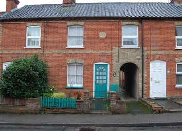 Thumbnail 2 bed terraced house for sale in Fairfield Road, Saxmundham