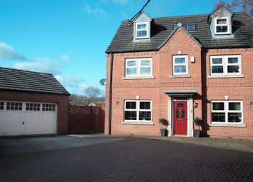 Thumbnail 5 bed detached house for sale in Crabtree Close, Danesmoor, Chesterfield