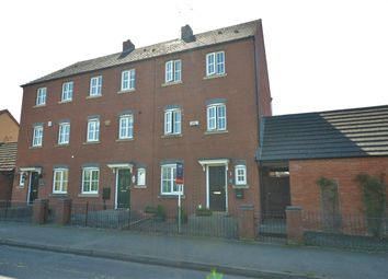 Thumbnail 4 bed town house for sale in Station Road, Rolleston-On-Dove, Burton-On-Trent