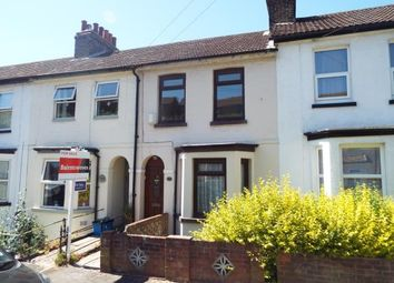 Thumbnail 2 bed terraced house for sale in Heathfield Avenue, Dover, Kent, England