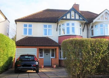 Thumbnail 4 bed semi-detached house for sale in Elgar Avenue, Surbiton