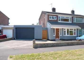 Thumbnail 3 bed semi-detached house to rent in Abbeyfield Drive, Fareham