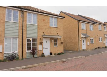 Thumbnail 1 bed end terrace house for sale in Jupiter Avenue, Peterborough