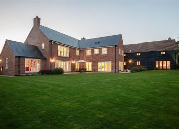 Thumbnail 8 bed detached house for sale in Brington, Huntingdon, Cambridgeshire
