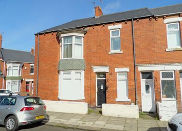 Thumbnail 3 bed flat for sale in Armstrong Terrace, South Shields