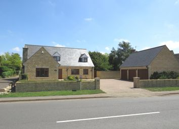 Thumbnail 6 bed detached house for sale in Lincoln Road, Glinton, Peterborough
