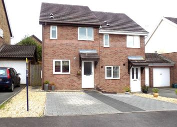 Thumbnail 2 bed semi-detached house for sale in Priory Court, Bryncoch, Neath, Neath Port Talbot.