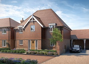 "Thumbnail 4 bed property for sale in ""The Belmont"" at Lenham Road, Headcorn, Ashford"
