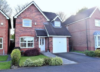 Thumbnail 3 bed detached house for sale in Lower Meadow Drive, Congleton