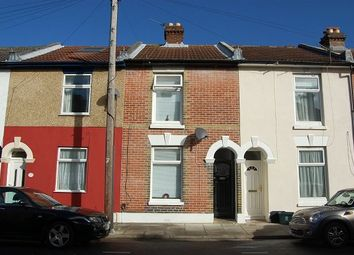 Thumbnail 3 bed terraced house to rent in Percy Road, Southsea