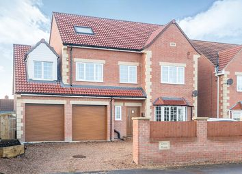 Thumbnail 5 bed detached house for sale in Doncaster Road, Whitley, Goole