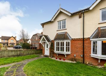 Thumbnail 3 bed semi-detached house for sale in Harebell Close, Hertford