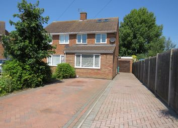 Thumbnail Semi-detached house for sale in Churchill Road, Barton-Le-Clay, Bedford