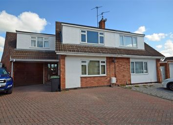 Thumbnail 4 bed semi-detached house to rent in Oakleigh Close, Raunds, Wellingborough, Northamptonshire