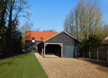 Thumbnail 4 bed detached house for sale in Old Stowmarket Road, Woolpit, Bury St. Edmunds