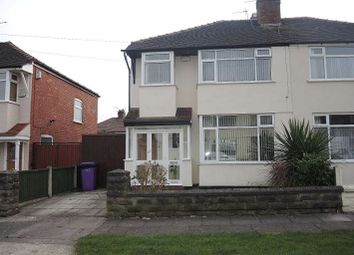 Thumbnail 3 bed semi-detached house for sale in Queenscourt Road, West Derby, Liverpool