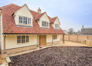 Thumbnail 4 bedroom detached house for sale in The Butts, Fowlmere, Royston