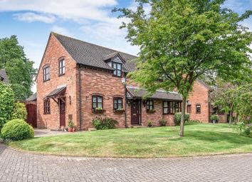 Thumbnail 4 bed detached house for sale in Church Down, Hilderstone, Stone, Staffordshire