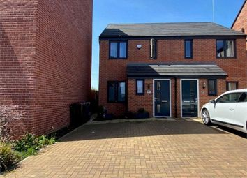 Thumbnail 2 bed semi-detached house to rent in Walmer Close, Northampton