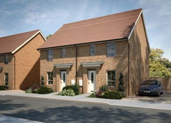"Thumbnail 3 bed semi-detached house for sale in ""Barwick"" at Tenth Avenue, Morpeth"