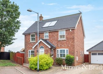 Thumbnail 4 bed detached house for sale in Bradfield Drive, Martham, Great Yarmouth