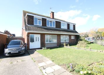 Thumbnail 3 bed semi-detached house to rent in Fittleworth Close, Goring-By-Sea, Worthing