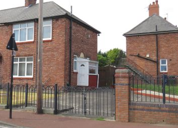 Thumbnail 3 bedroom end terrace house for sale in Kingston Avenue, Newcastle Upon Tyne