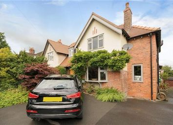 Thumbnail 3 bed semi-detached house for sale in Alderley Road, Prestbury, Macclesfield