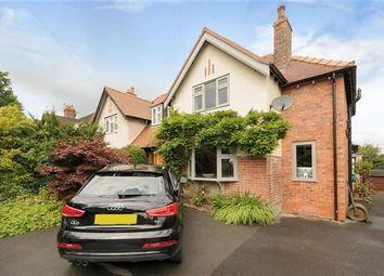 Thumbnail 3 bed semi-detached house for sale in Alderley Road, Prestbury, Macclesfield
